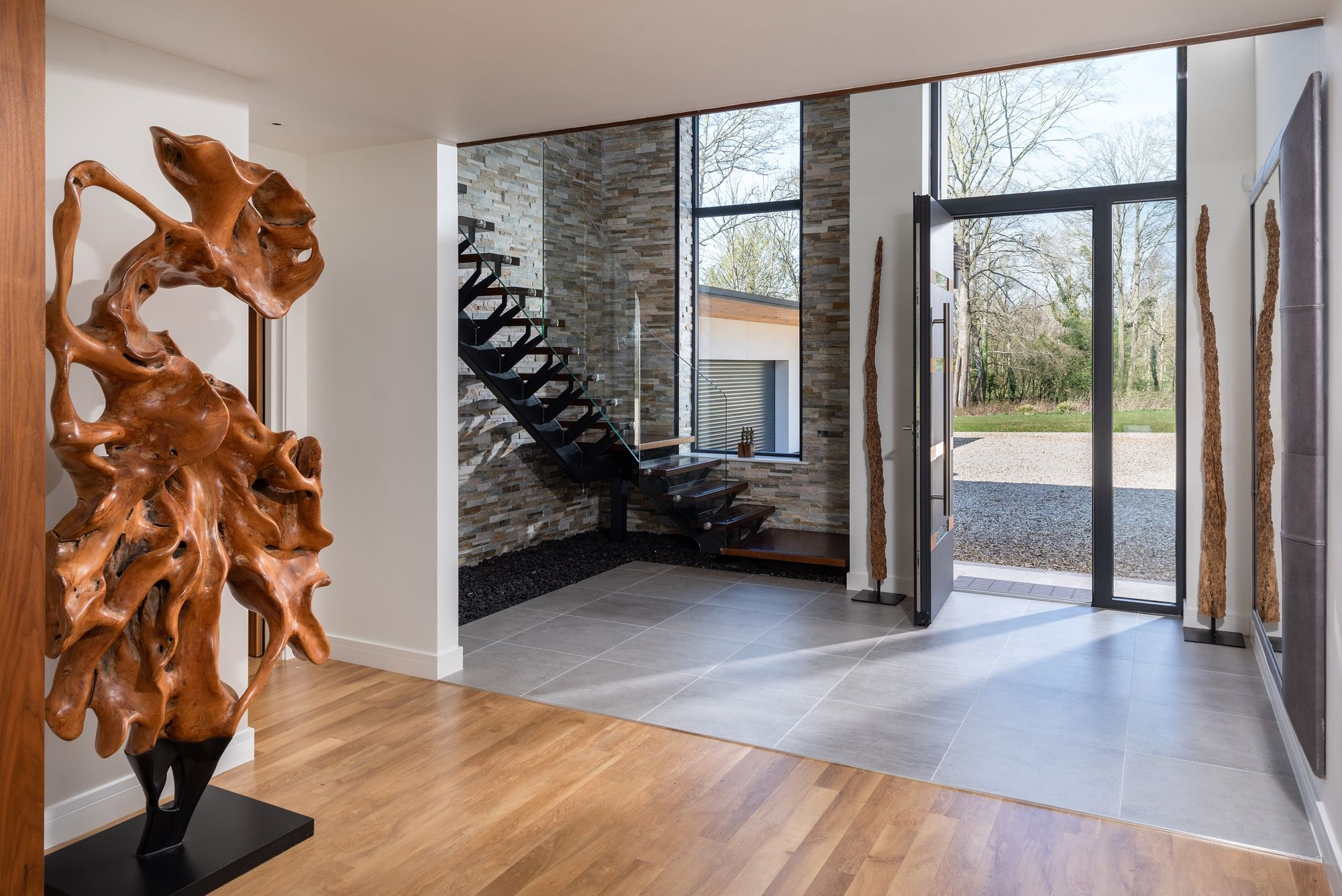 see a cutting edge eco friendly home in hampshire