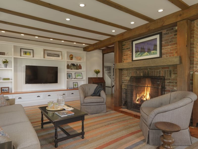 35 Best Rustic Living Room Ideas - Rustic Decor for Living ... on Traditional Rustic Decor  id=92169