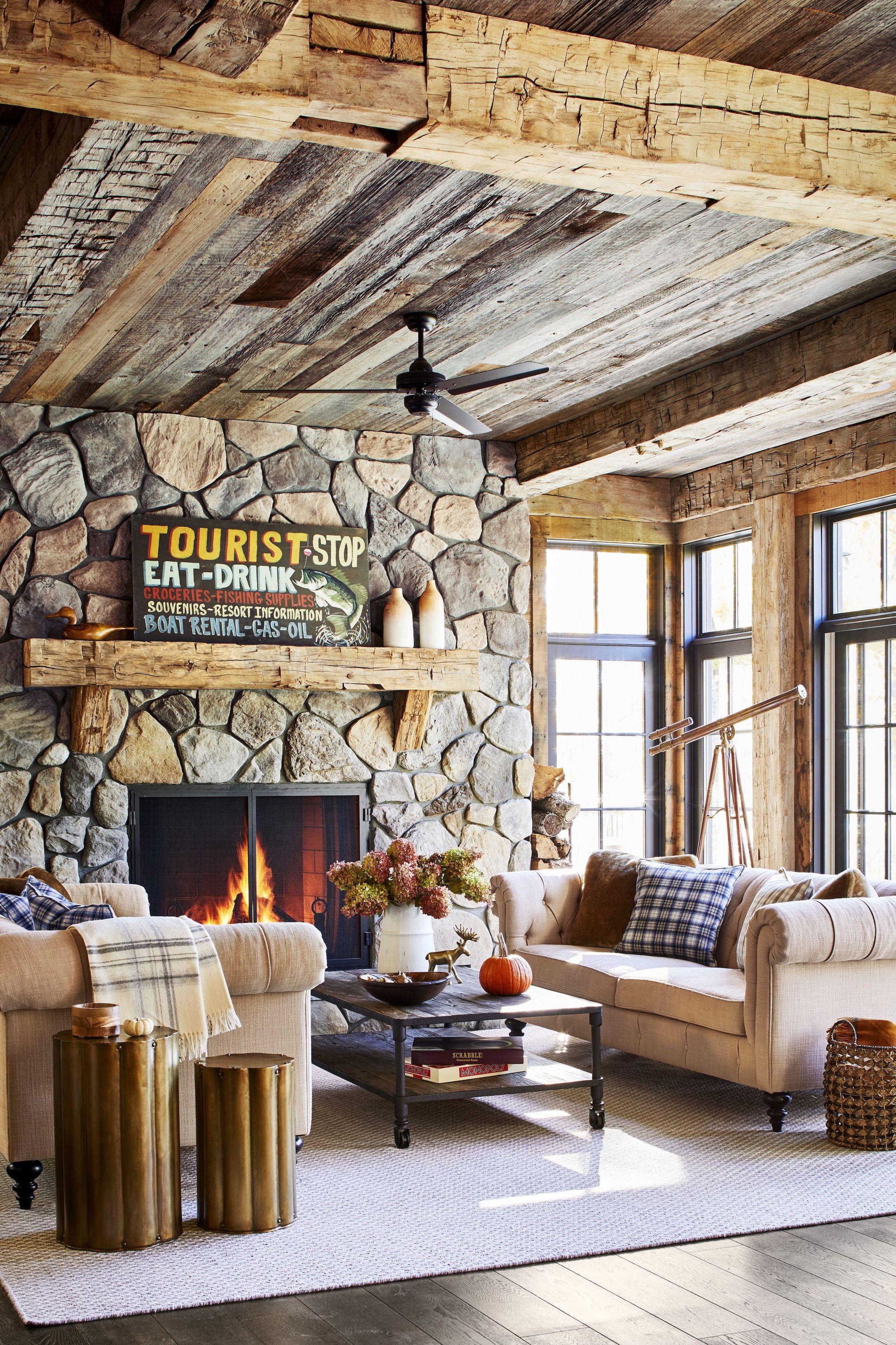 25 rustic living room ideas modern
