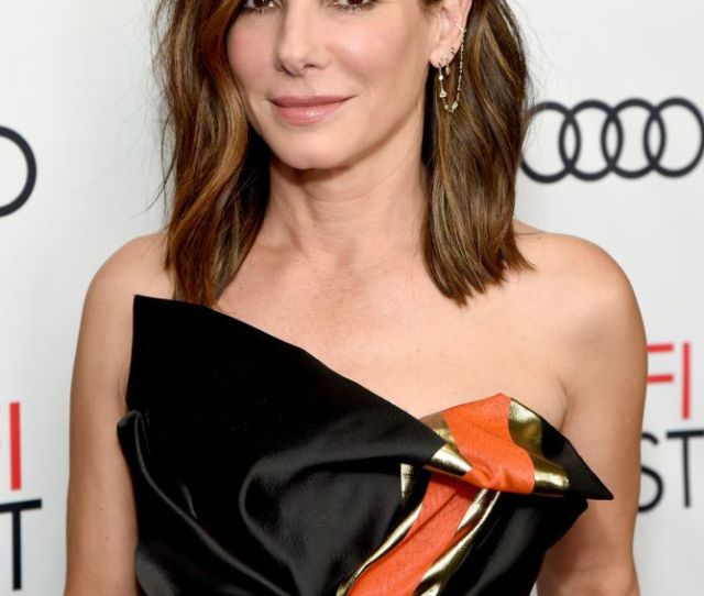 Hairstyles For Women Over  Sandra Bullock