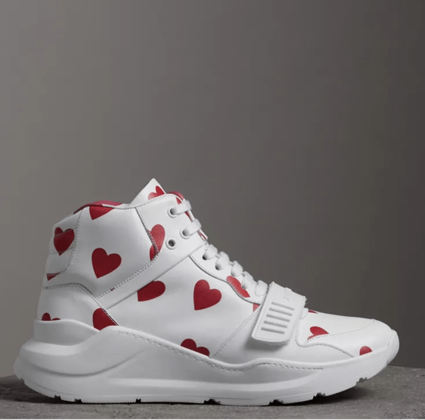 Burberry Heart Sneakers