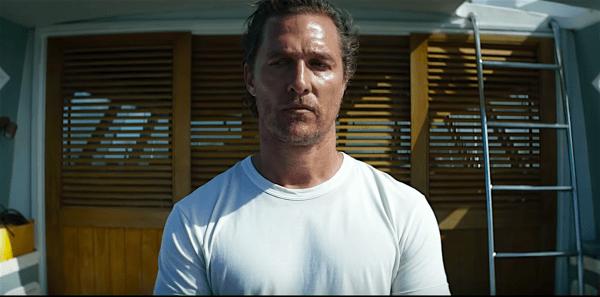 Matthew McConaughey in Serenity recensie