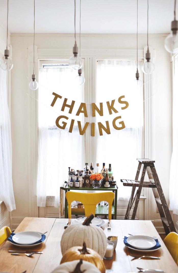 a beautiful mess thanksgiving garland