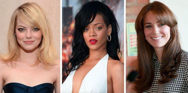 19 side fringe hairstyles for 2019 - celebrity inspiration