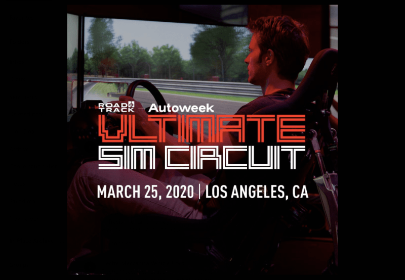 Join Road & Track and Autoweek at the Ultimate Sim Circuit Competition in Los Angeles 1