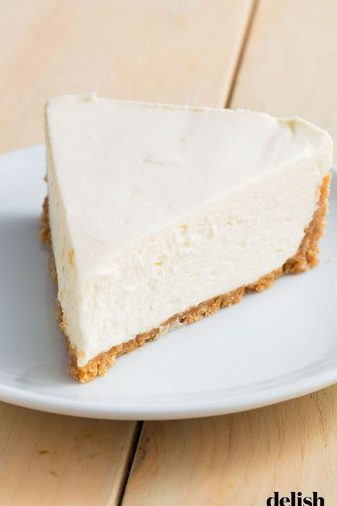 No-Bake Cheesecake - Delish.com