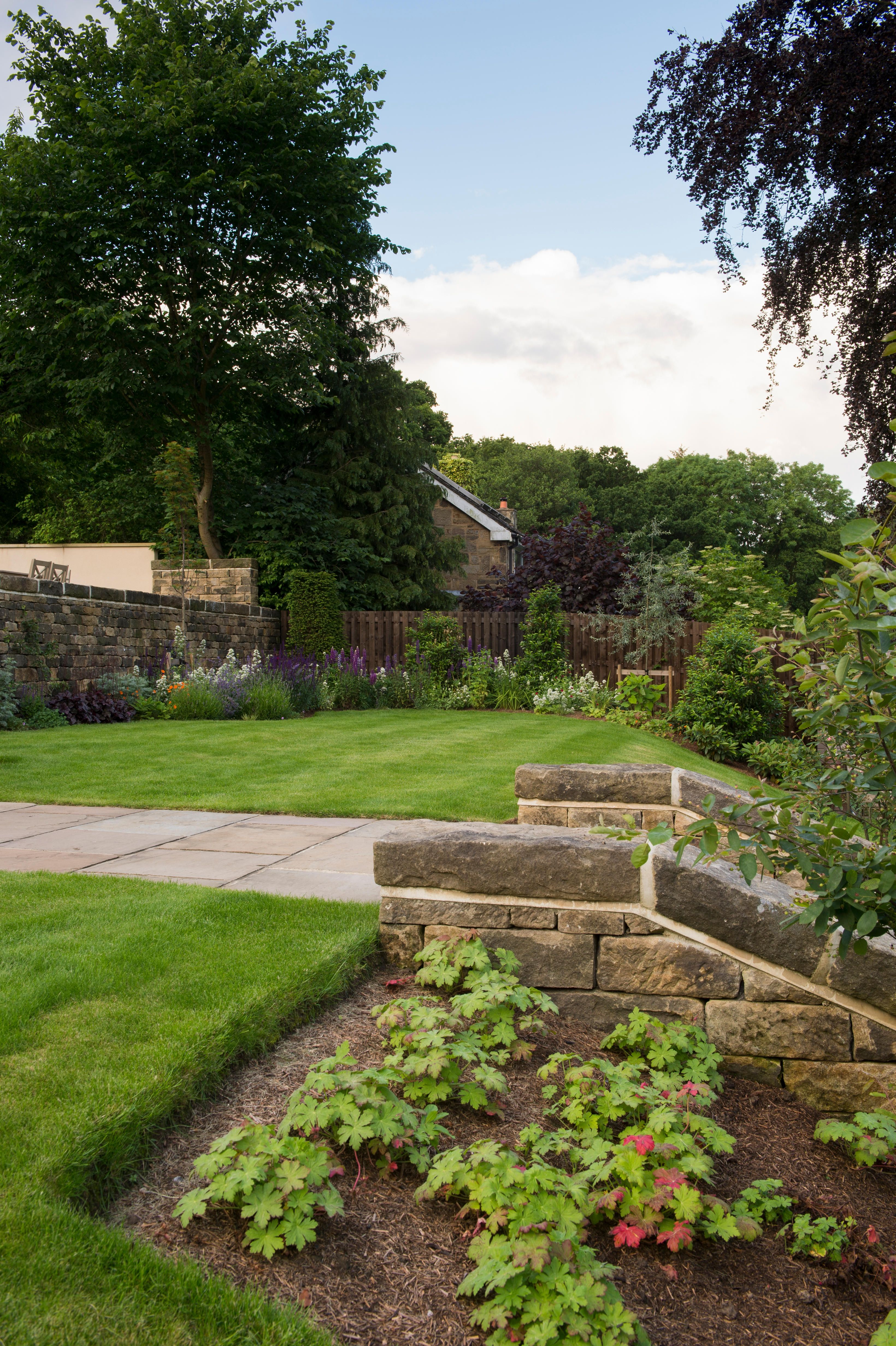 Sloping Garden Ideas - 5 Things To Consider: Terraces ... on Steep Sloping Garden Ideas  id=42665