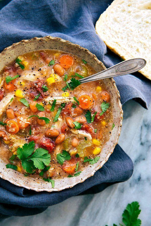 slow cooker soups chicken quinoa