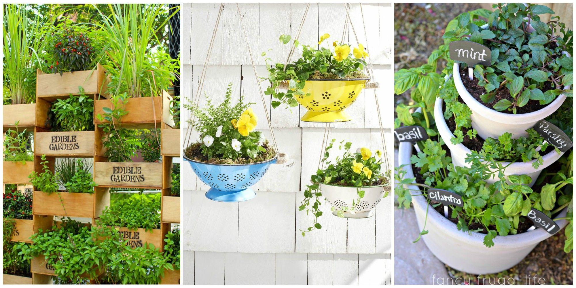 28 Small Backyard Ideas - Beautiful Landscaping Designs ... on Diy Back Garden Ideas  id=57733