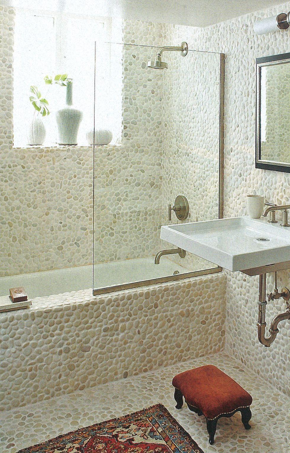 44 Best Small Bathroom Ideas - Bathroom Designs for Small ... on Bathroom Designs For Small Spaces  id=53574