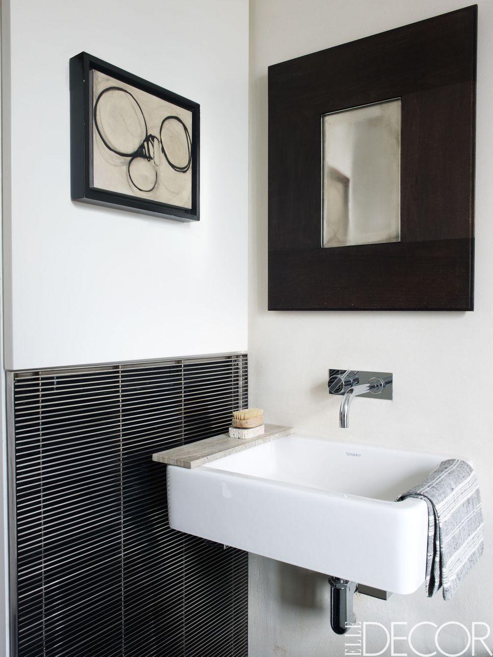 44 Best Small Bathroom Ideas - Bathroom Designs for Small ... on Bathroom Ideas For Small Spaces  id=54392