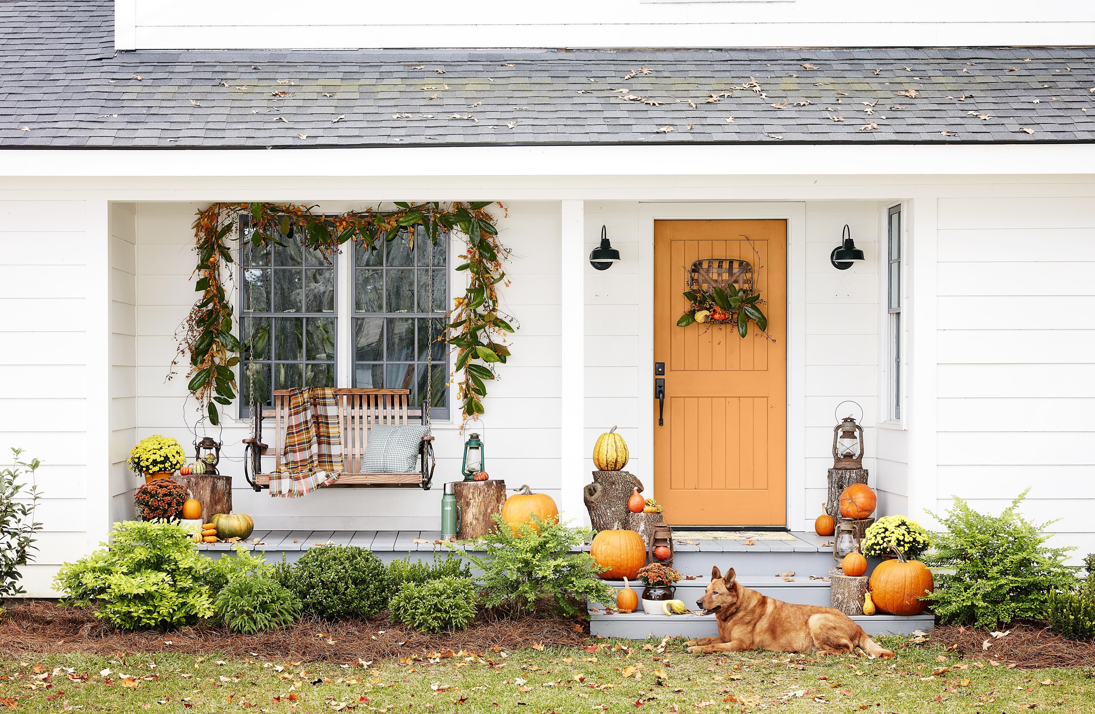 67 fall porch decorating ideas