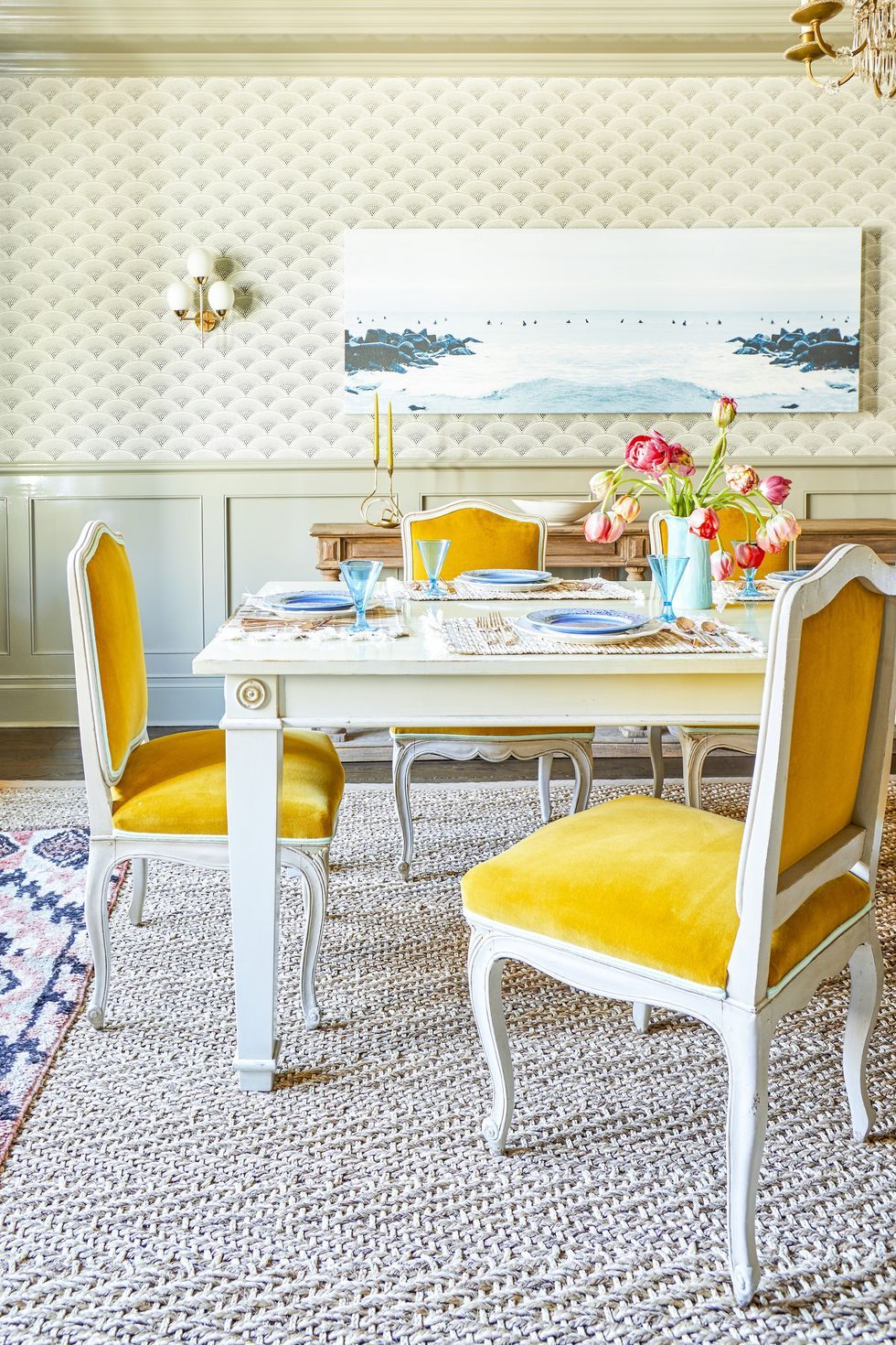 Spring Decor Ideas - Dining Room Chairs