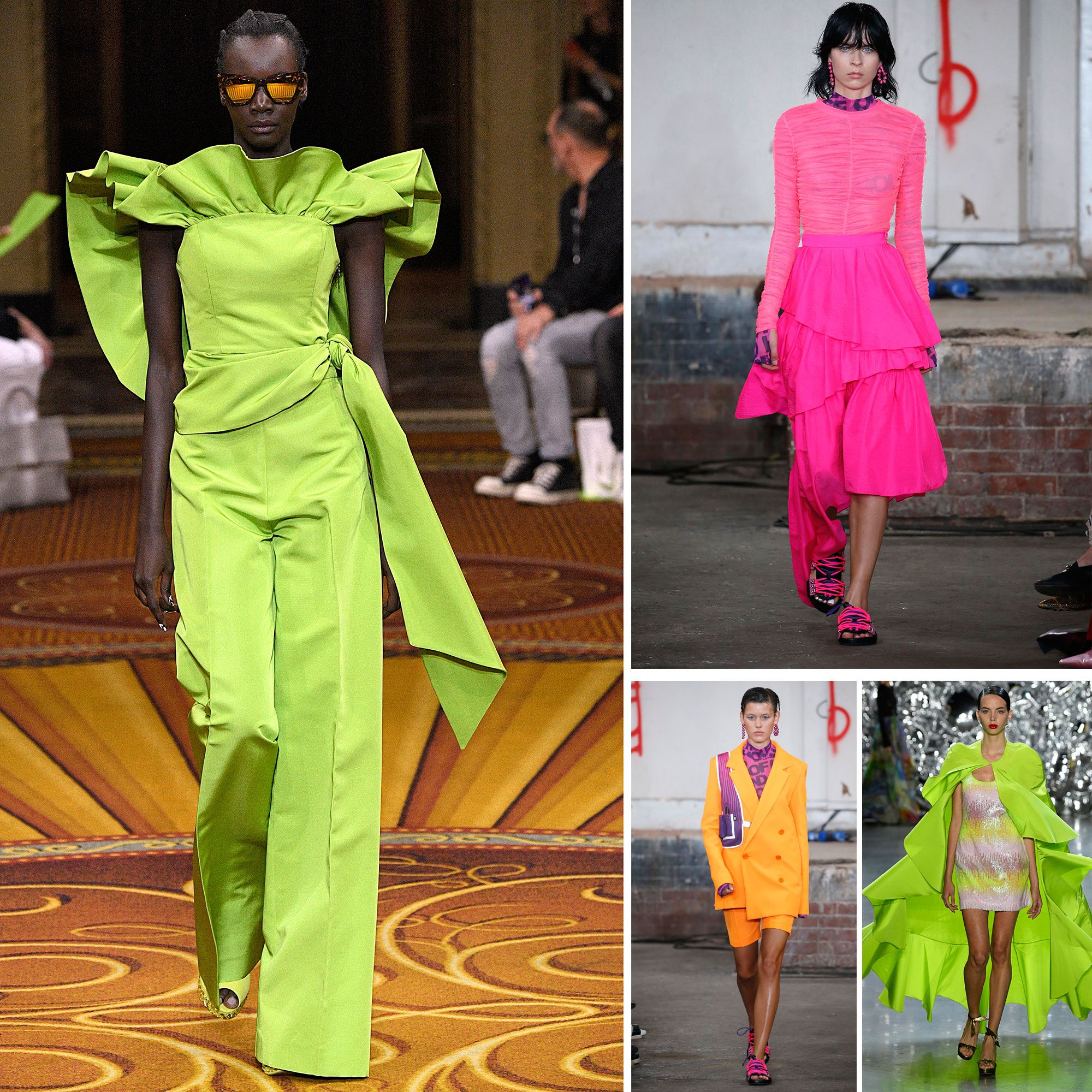 Spring/summer 2019 fashion trends: neon