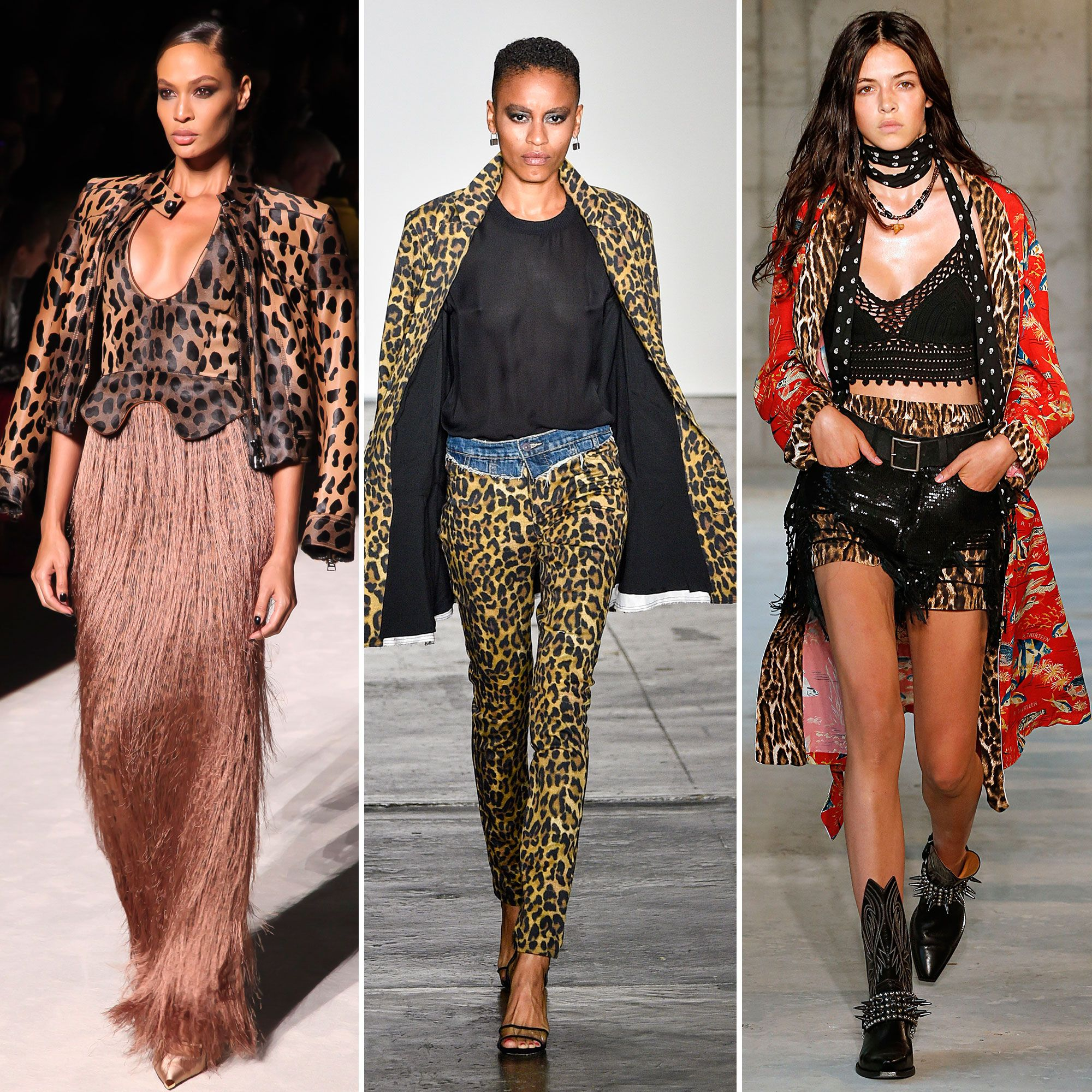 Spring/summer fashion trends 2019 - animal print