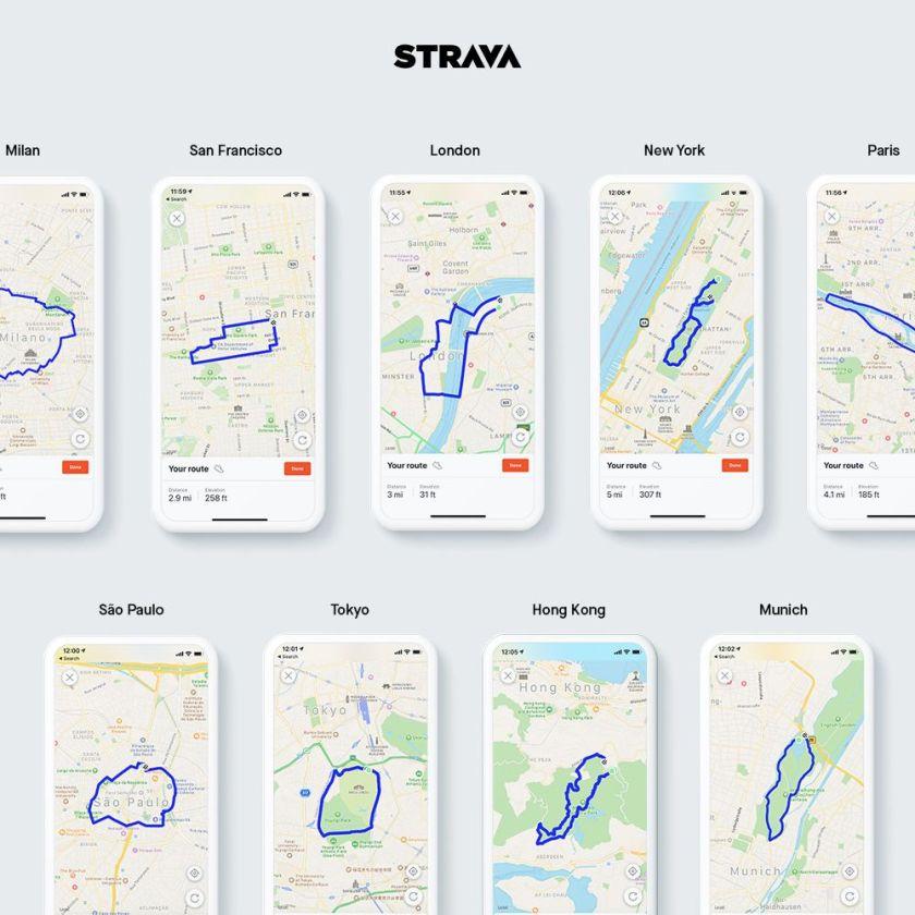 Stravas Route Builder for Mobile