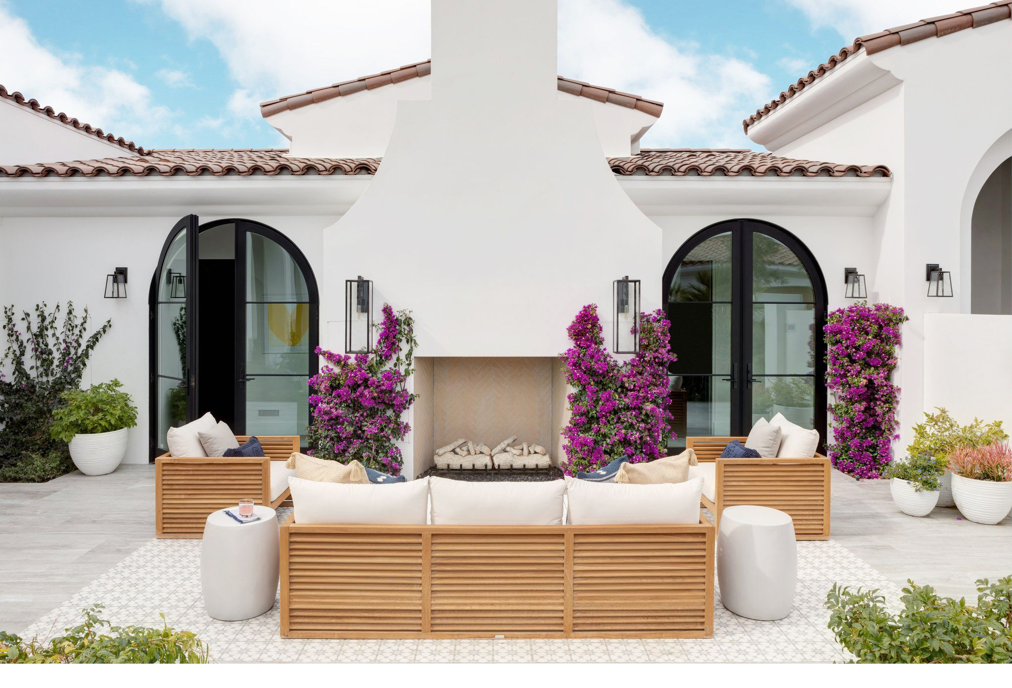 40 Best Patio Ideas for 2020 - Stylish Outdoor Patio ... on Backdoor Patio Ideas id=77730
