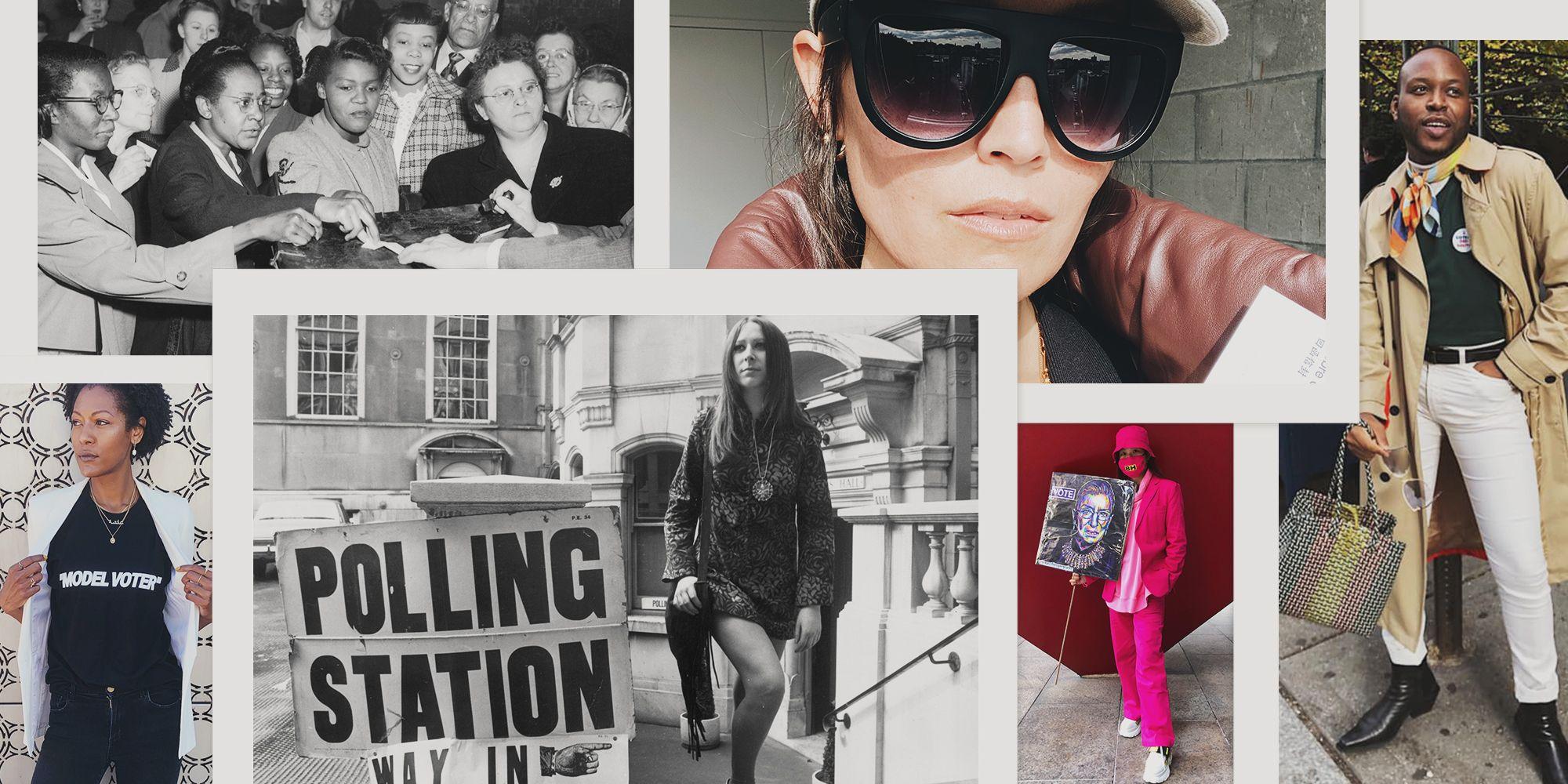 election 2020 voting fashion