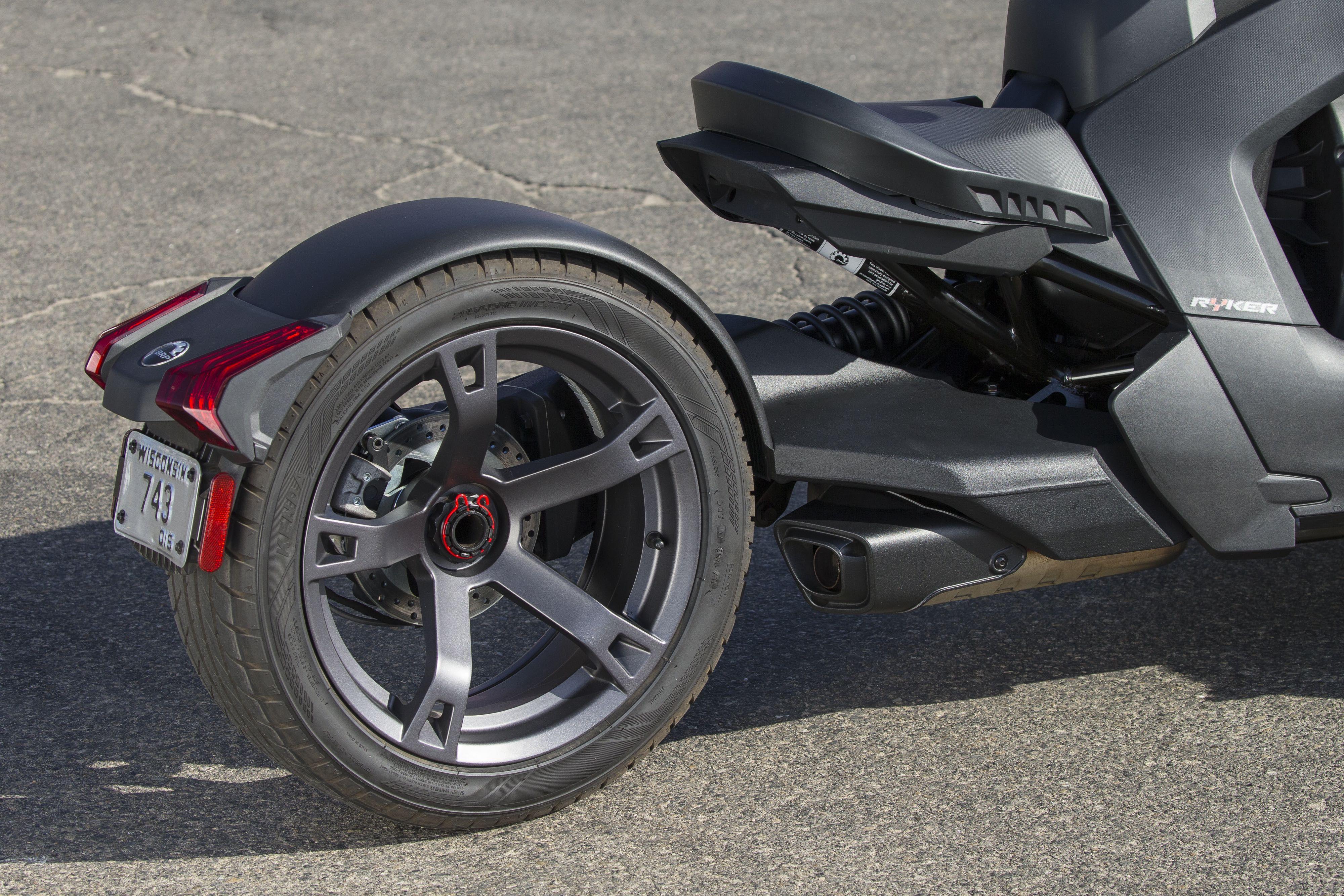 can am ryker three wheeler review