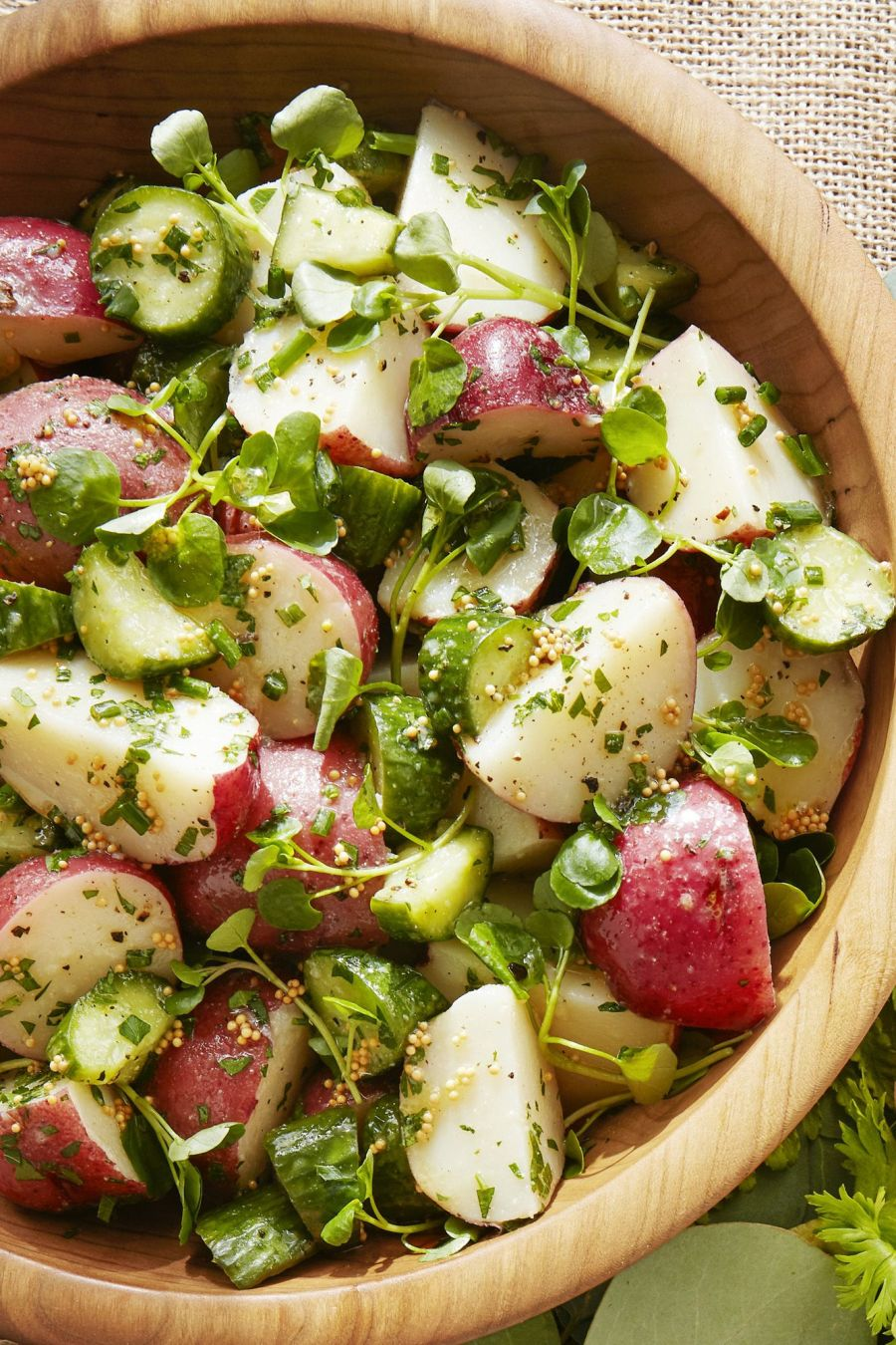 tangy potato salad