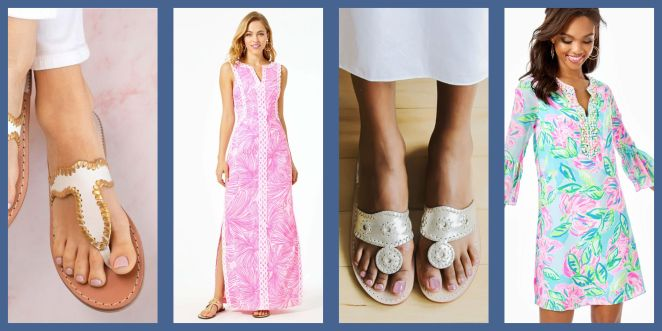 lilly pulitzer and jack rogers sale items