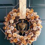23 Diy Thanksgiving Wreaths Easy Thanksgiving Door Decorations