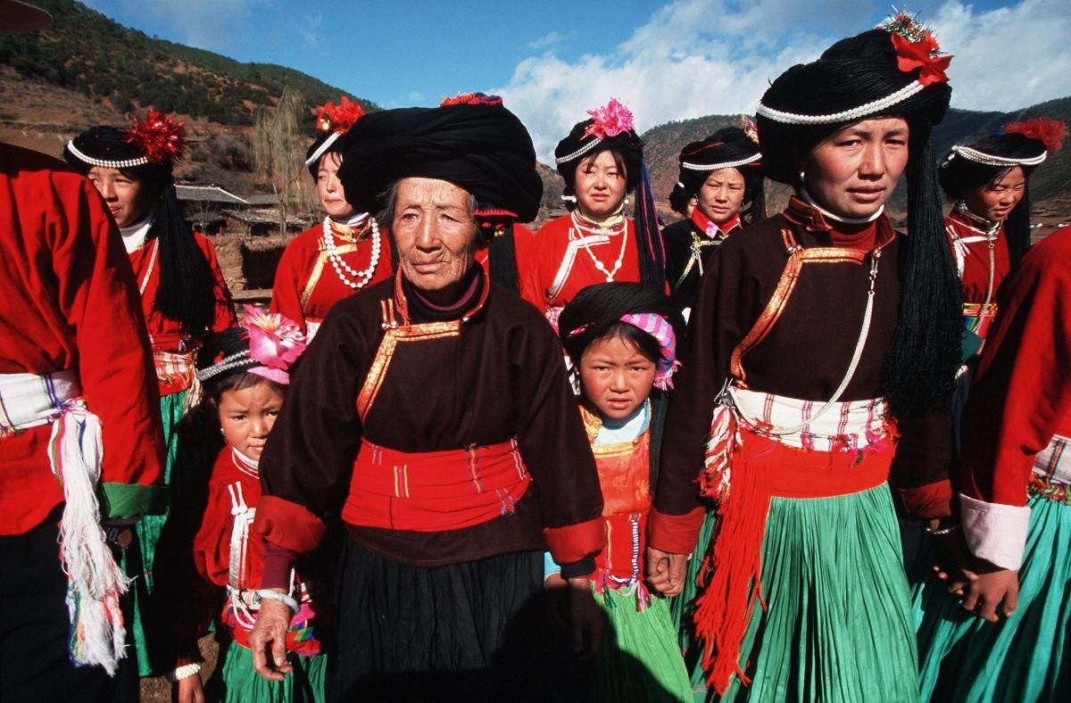 El Reino de las Mujeres Musuo El 2 de enero de 2000, China. Sociedades matriarcales.