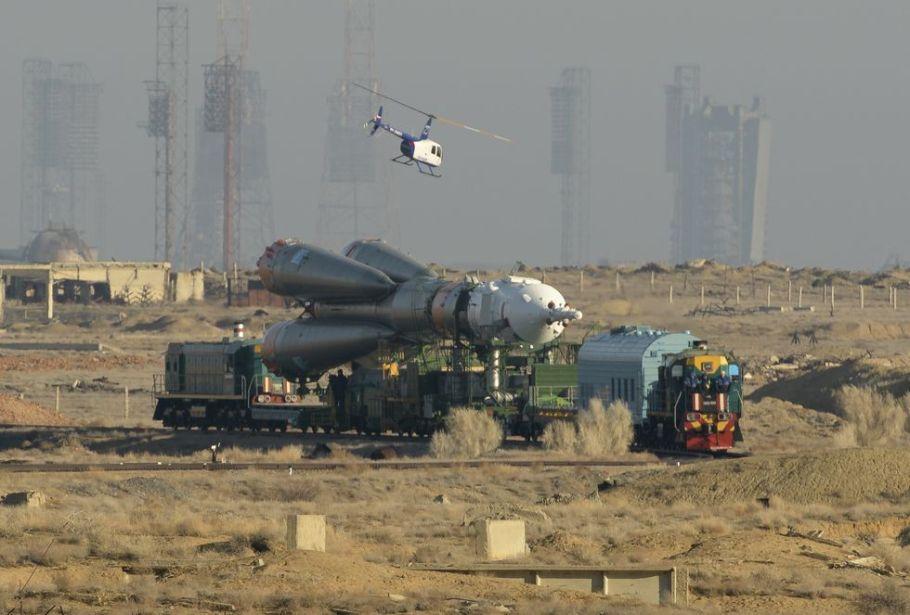 Sefer 59 Soyuz Rollout