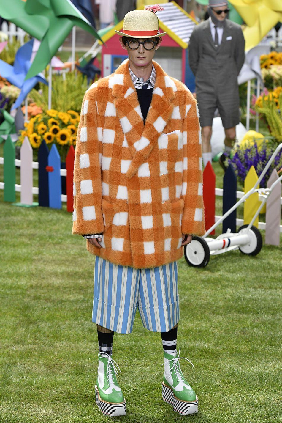 Thom Browne hombre primavera verano 2019