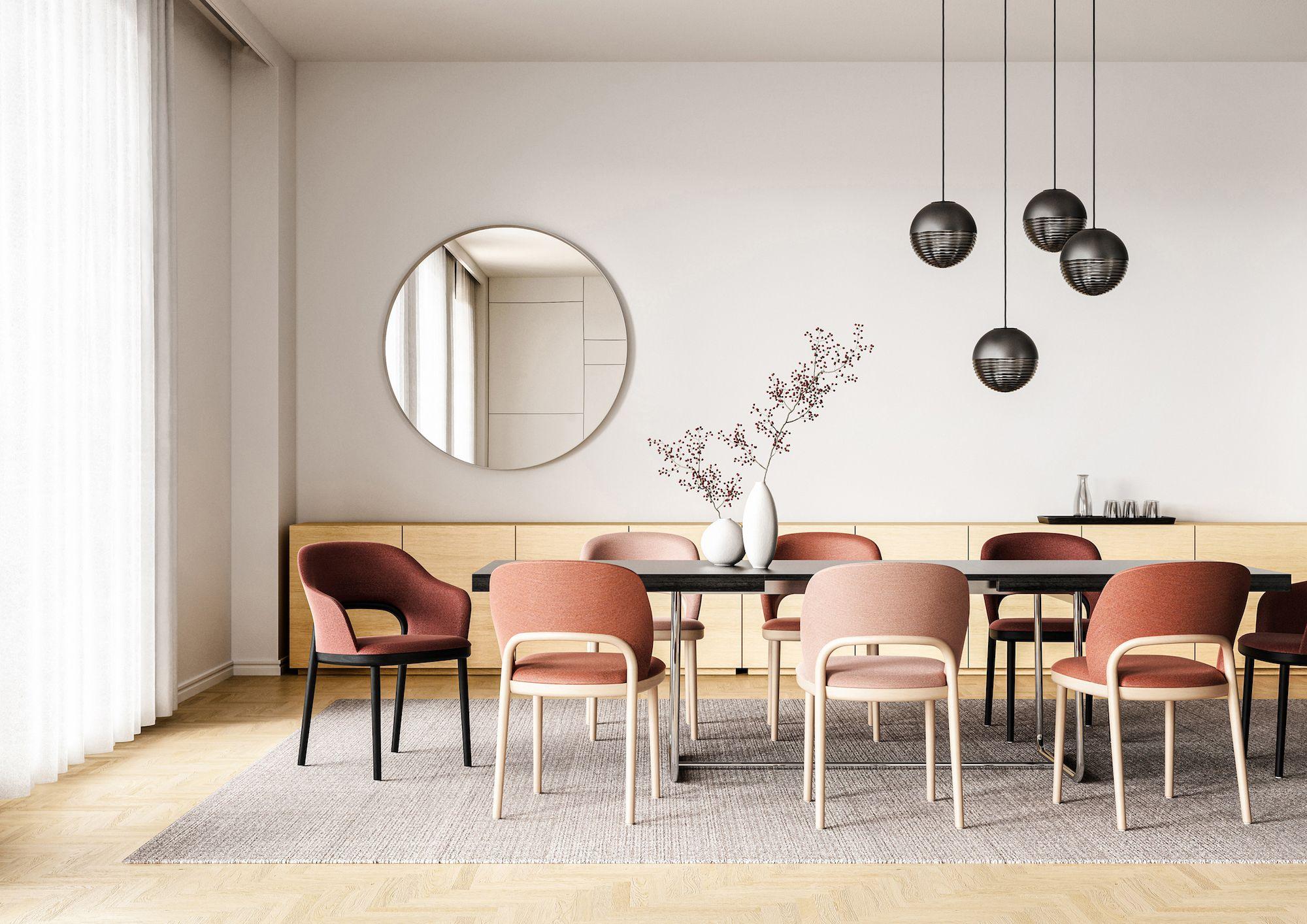 sedie moderne personalizzabili in legno, tessuto, ecopelle e pelle. Le Prime 10 Novita Dell Anno Nei Cataloghi Di Design Direttamente Da Imm Cologne 2020