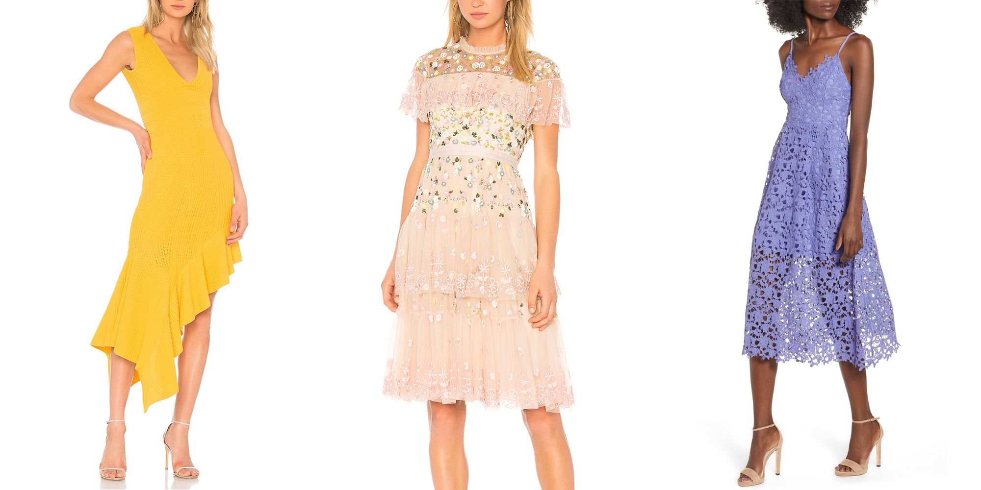 22 Chic Spring Wedding Guest Dresses