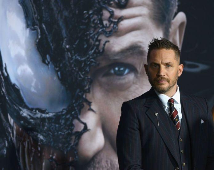 Tom Hardy, in the presentation of 'Venom'.