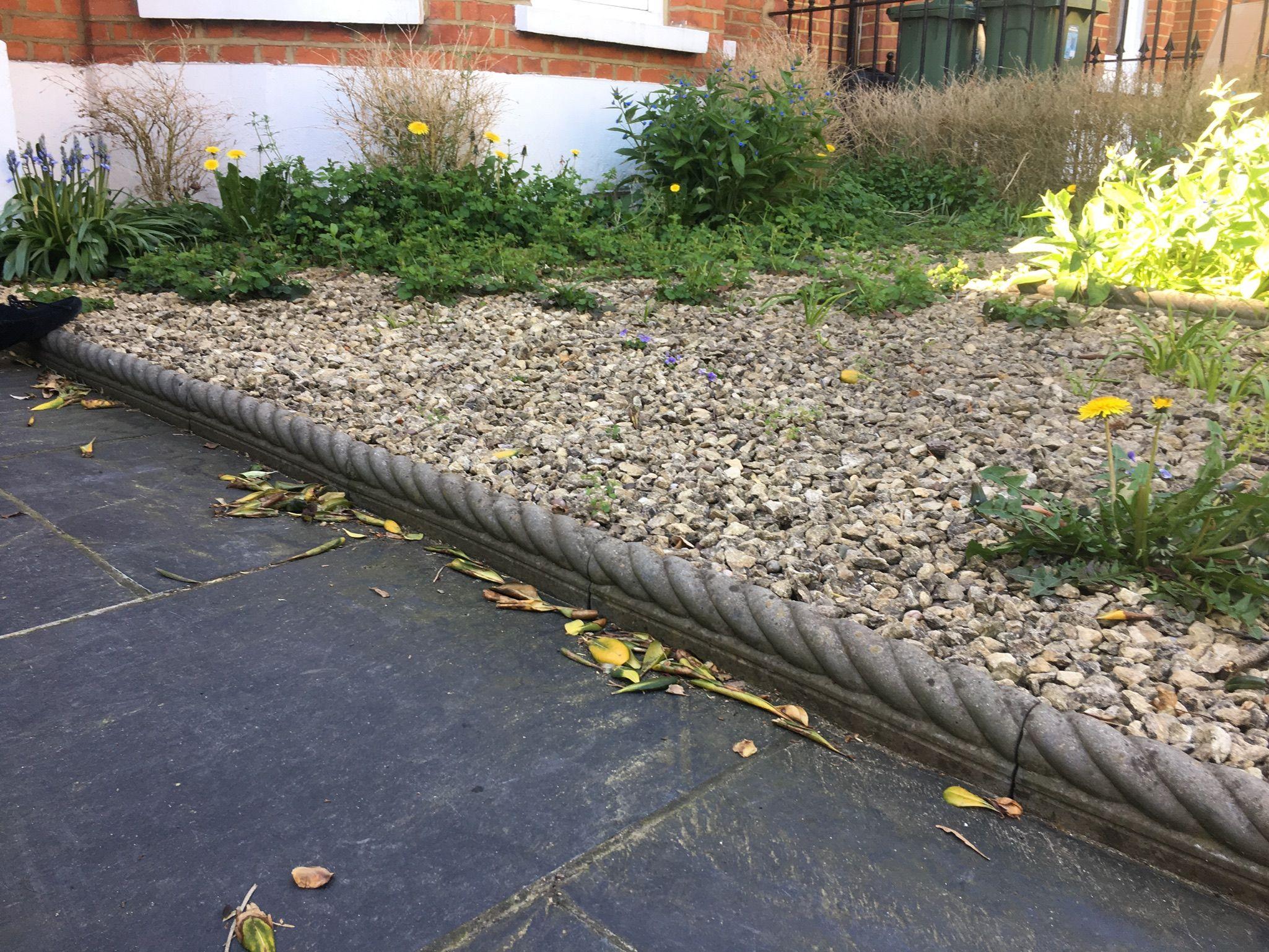 garden edging ideas garden border