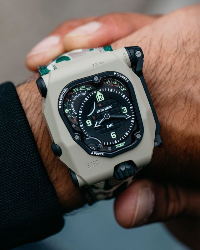 urwerk emc desert watch