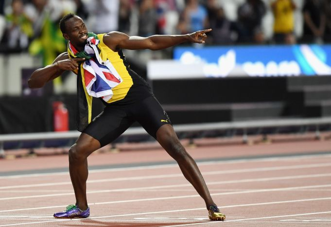 Bolt Unveils Tokyo Olympic Stadium Rules Out Return To Tracks