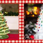 Best Vintage Ceramic Christmas Trees Ceramic Christmas Trees And Diy Kits For Sale