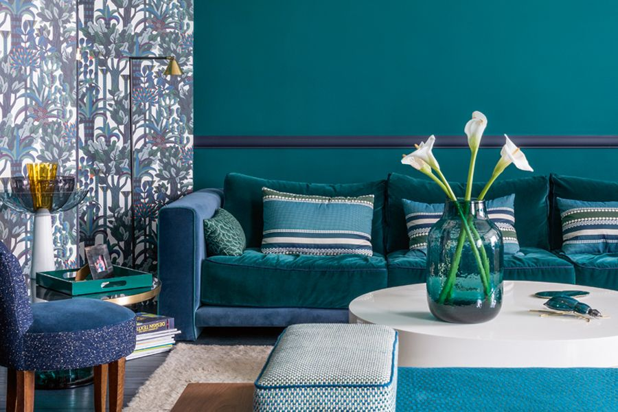 Decorating With Teal Blue