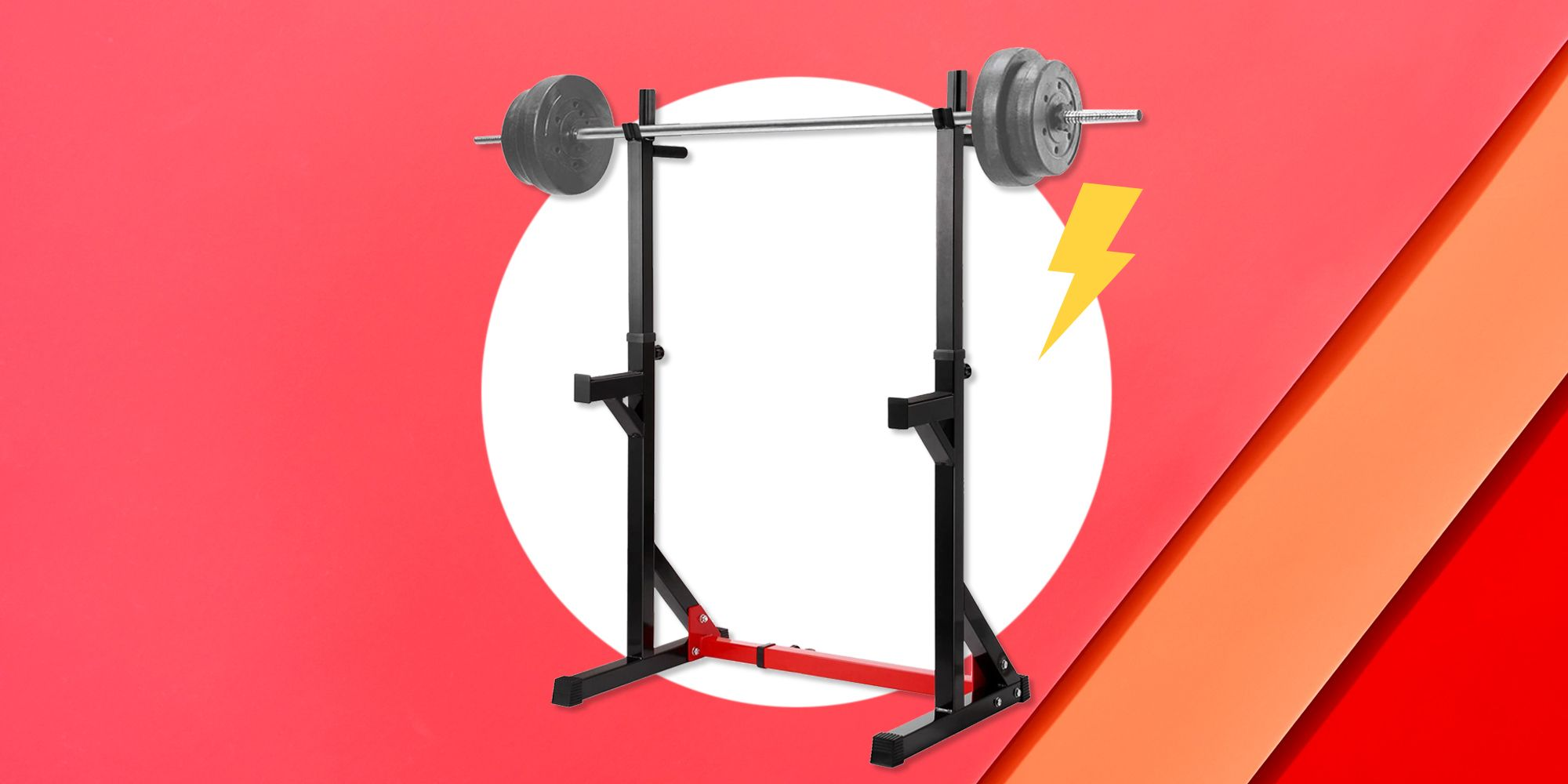 these squat racks will turn your extra space into a home gym