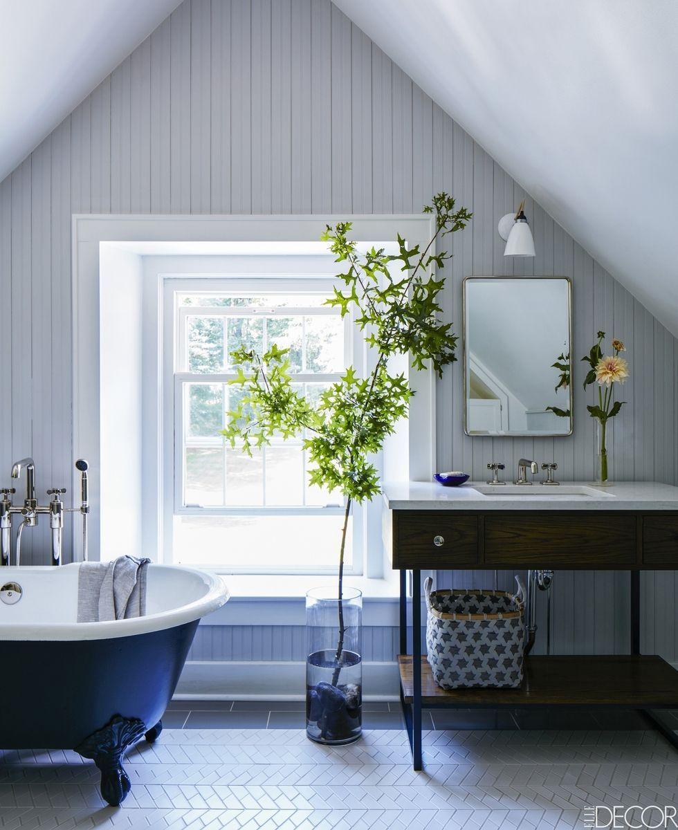 25 White Bathroom Design Ideas - Decorating Tips for All ... on White Bathroom Design Ideas  id=20071