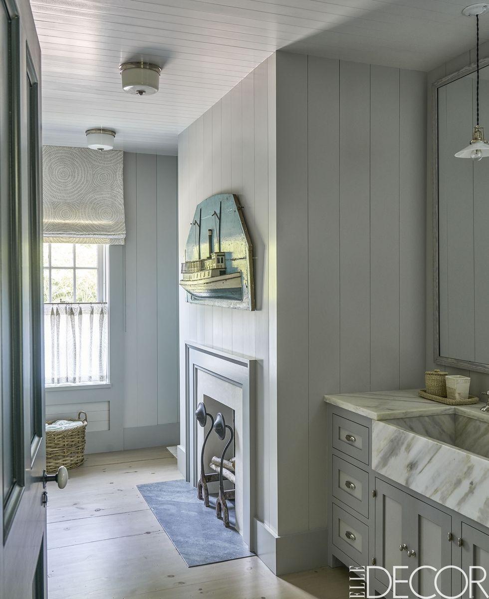 25 White Bathroom Design Ideas - Decorating Tips for All ... on White Bathroom Design Ideas  id=87951