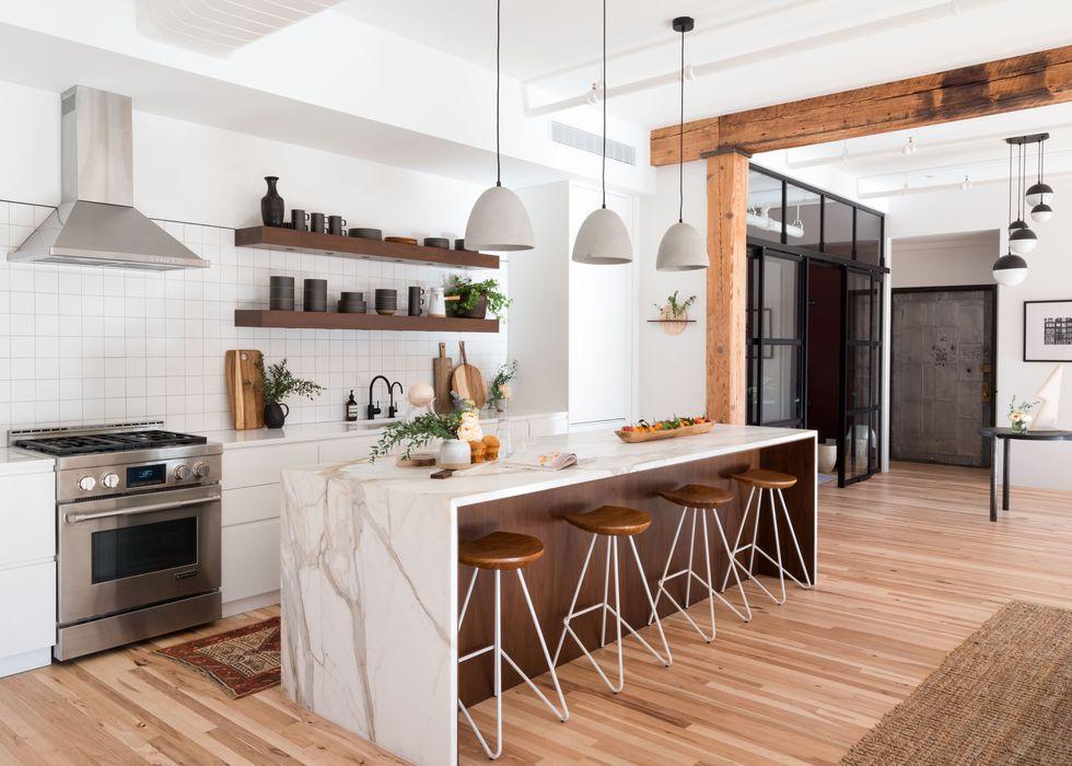 40 Best White Kitchen Ideas - Photos of Modern White ... on Images Of Modern Kitchens  id=52112