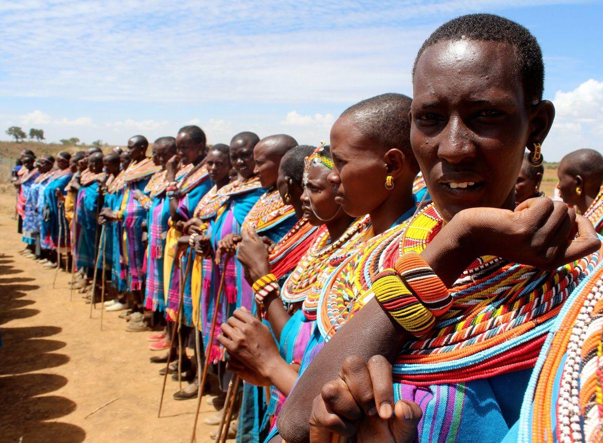Aldea de mujeres de Umoja de Kenia Sociedades matriarcales.