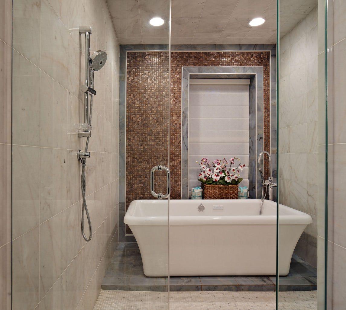 33 Bathroom Tile Design Ideas - Unique Tiled Bathrooms on Bathroom Tile Designs  id=29094
