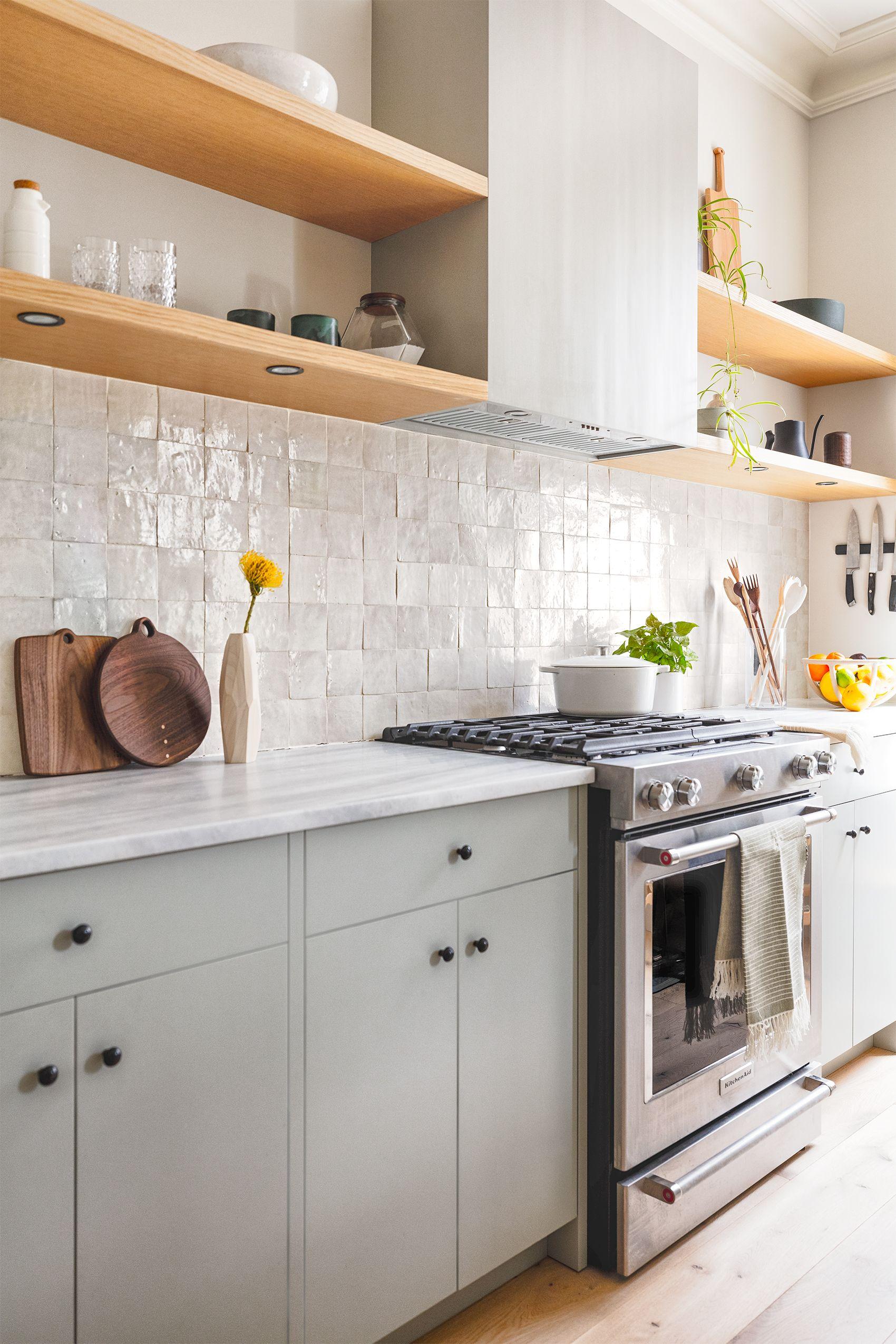 bathroom and kitchen zellige tile ideas