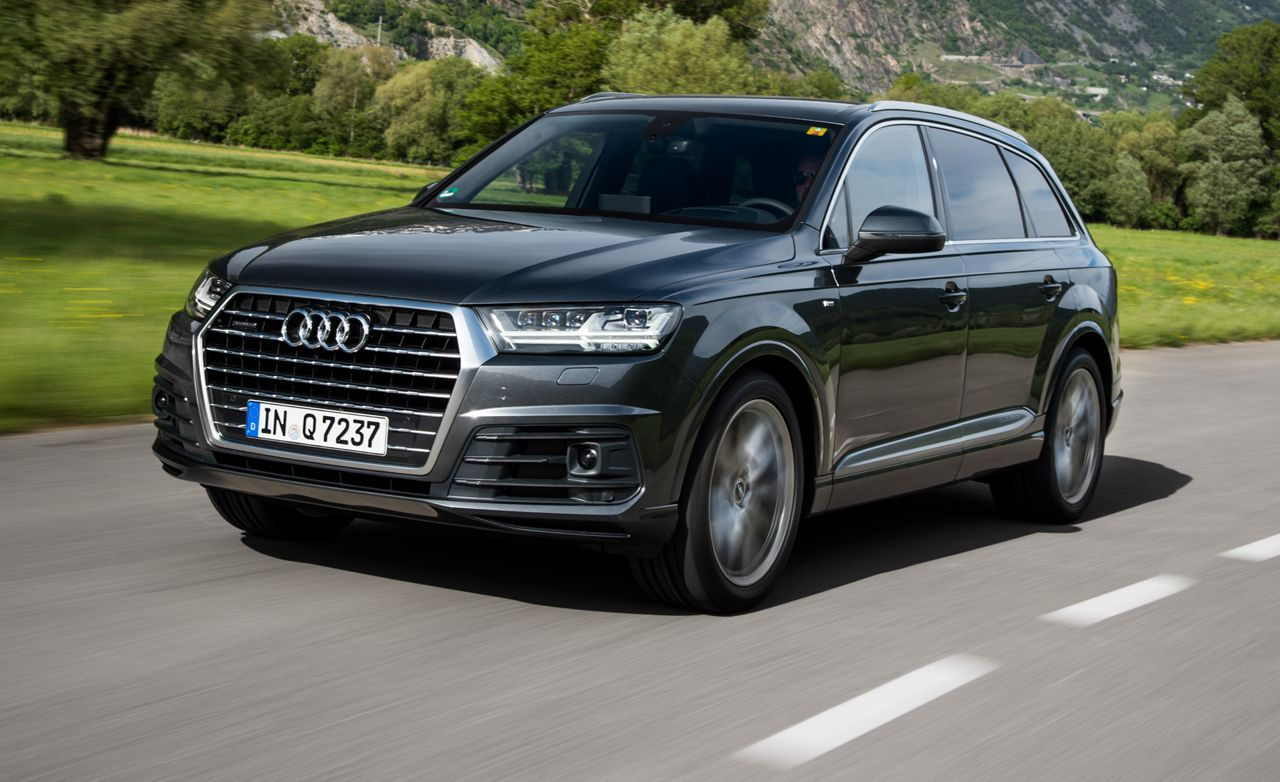 2017 Audi Q7 First Drive – Review – Car and Driver