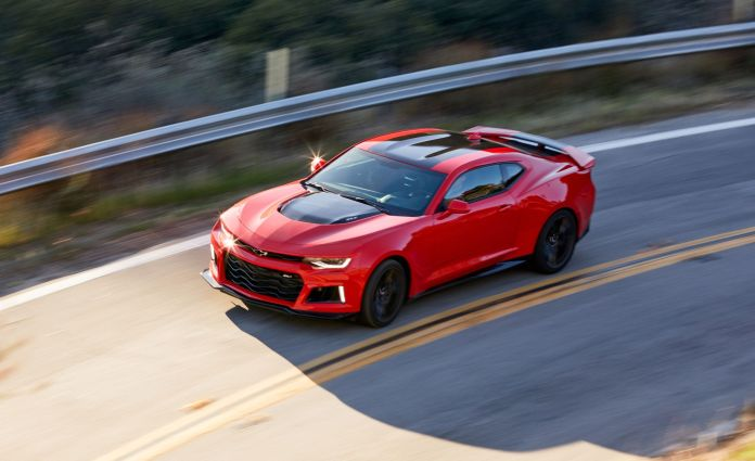 Tested 2017 Chevrolet Camaro Zl1 Boosts Our Enthusiasm