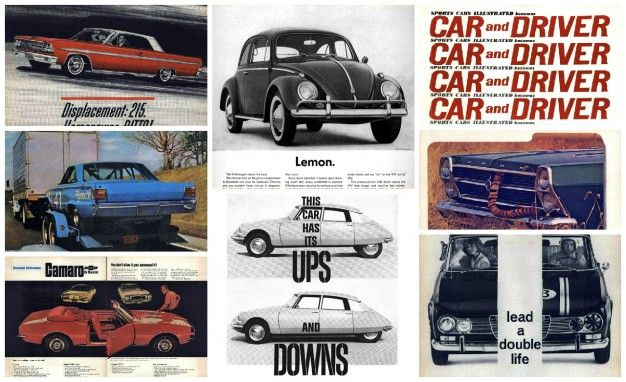 40 Excellent Car Ads From The Swinging Sixties