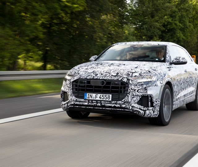 2019 Audi Q8 Going For A Spin In Audis New Flagship Suv