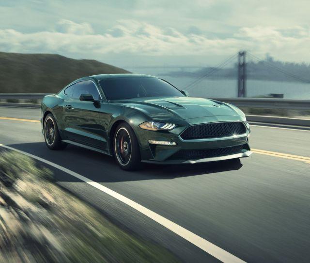 Ford Mustang Bullitt Driven Riding  Loud Horses Review Car And Driver