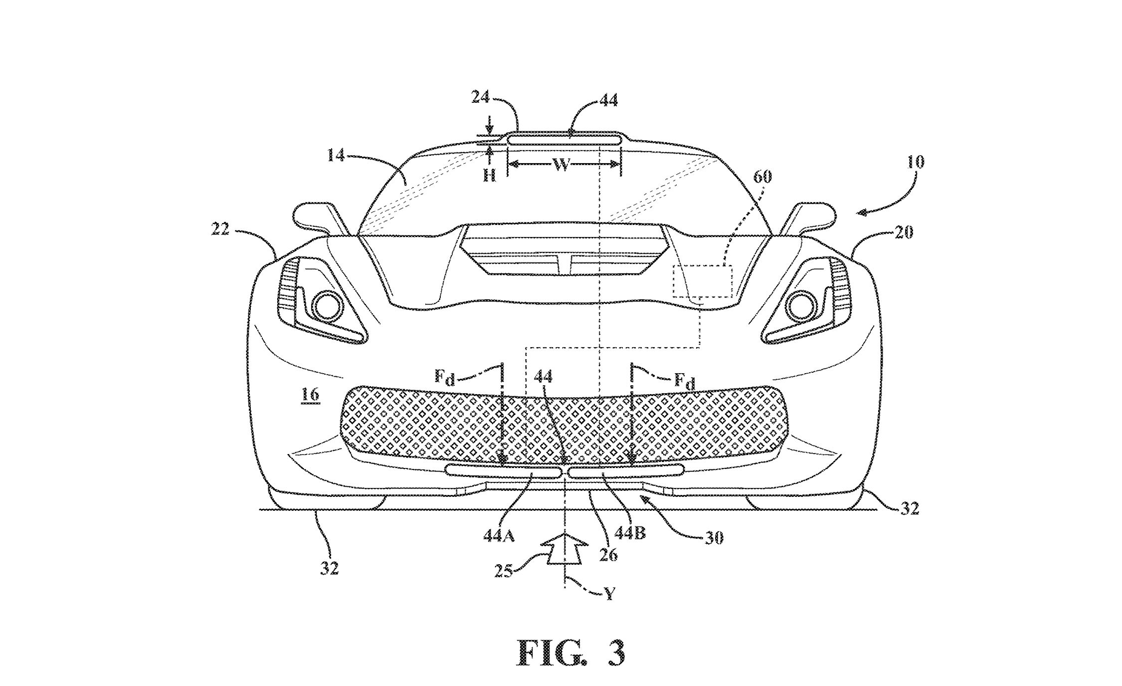Mid Engined Chevrolet Corvette Patent